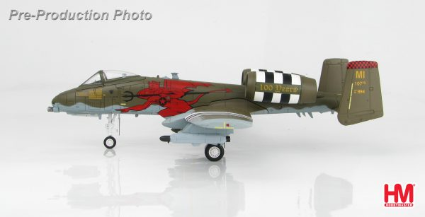 "Hobby Master Collector 1/72 Air Power HA1326 A-10C 81-0994 ""100 Anniversary of the 107th FS"" 107th FS/127th Wing, Michigan, August 2017. United States Air Force (USAF) Fairchild Republic A-10 Thunderbolt II ""Warthog"" ""Hog"" Close Air Support, Ground-Attack Aircraft (Military Airplanes Diecast Model, Pre built Aircraft Scale Model)"