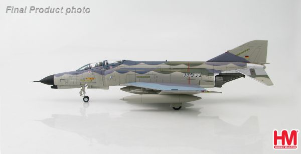 "Hobby Master Collector 1/72 Air Power HA1948 McDonnell-Douglas German F- 4F Phantom II 38+33, JG71 ""Richthofen"" NORM81 Color Scheme. German Air Force McDonnell Douglas F-4 Phantom II supersonic jet interceptor and fighter-bomber (Military Airplanes Diecast Model, Pre built Aircraft Scale Model)"