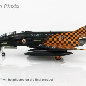 "Hobby Master Collector 1/72 Air Power HA1977 German Air Force McDonnell Douglas F-4F Phantom II 38+13 ""Final Flight"", WTD-61 Manching AB, 2013. McDonnell Douglas F-4 Phantom II supersonic jet interceptor and fighter-bombe (Military Airplanes Diecast Model, Pre built Aircraft Scale Model)"