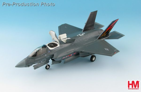 Hobby Master Collector 1/72 Air Power HA4609 U.S. Air Force Lockheed Martin F-35B Lightning II Multirole Combat Aircraft (MRCA) Fighter, (STOVL) BF-01, USMC, 2010s (Military Airplanes Diecast Model, Pre-built Aircraft Scale Model)
