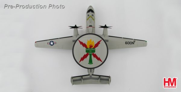 """Hobby Master Collector 1/72 Air Power HA4808 Northrop Grumman E-2C Hawkeye """"Operation Iraqi Freedom"""" NF 600/165295, VAW-115 USS Kitty Hawk. United States Navy Northrop Grumman E-2 Hawkeye carrier-capable tactical Airborne early warning and control (AEW) aircraft (Military Airplanes Diecast Model, Pre built Aircraft Scale Model)"""
