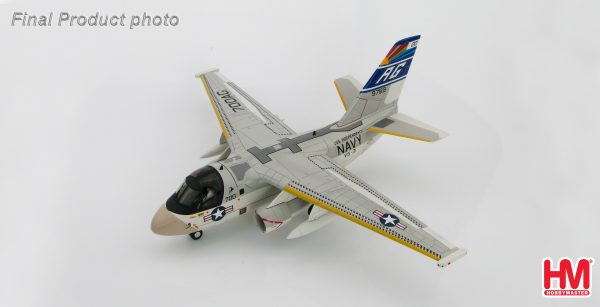 "Hobby Master Collector 1/72 Air Power HA4903 Lockheed S-3A Viking BuNo 159769, VS-31 ""Topcats"" USS Independence, US Navy. United States Navy Lockheed S-3 Viking Carrier-based anti-submarine warfare Jet Fighter. (Military Airplanes Diecast Model, Pre built Aircraft Scale Model)"