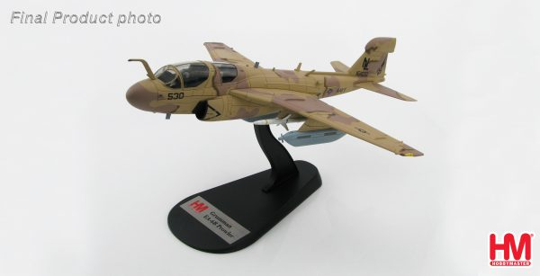"Hobby Master Collector 1/72 Air Power HA5002 Grumman EA-6B Prowler 161120, VAQ-133 ""Wizards"", Bagram Airfield, Afghanistan, 2007. United States Navy Northrop Grumman EA-6B Prowler Electronic warfare/Attack aircraft (Military Airplanes Diecast Model, Pre built Aircraft Scale Model)"