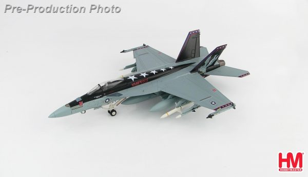 "Hobby Master Collector 1/72 Air Power HA5109 F/A-18E Super Hornet 166957, VX-9 ""Vampires"", 2018, United States Navy Boeing F/A-18E Carrier-Based Multirole Combat Jet Fighter (Military Airplanes Diecast Model, Pre built Aircraft Scale Model)"