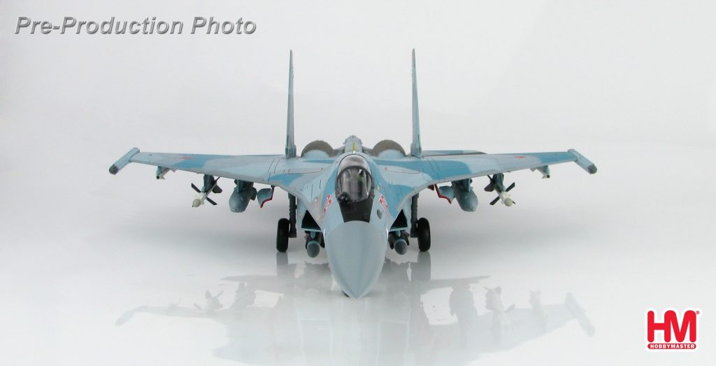 Hobby Master Collector 1/72 Air Power HA5702 Sukhoi Su-35S Flanker E Red 06, Russian Air Force, Latakia, Syria 2016. Multi-role air superiority fighter (Military Airplanes Diecast Model, Pre built Aircraft Scale Model)