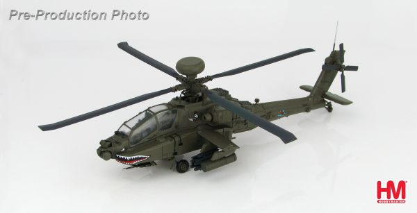 Hobby Master Collector 1/72 Air Power HH1201 Boeing AH-64D Longbow Apache 8th Battalion, 229th Aviation Regiment, US Army. United States Army Boeing AH-64 Apache Attack helicopter (Military Airplanes Diecast Model, Pre built Aircraft Scale Model)