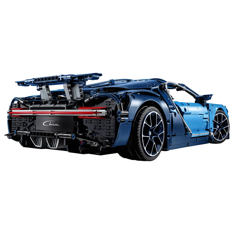 Lego 42083 Technic Bugatti Chiron, 3599 Pieces Building Toy, Building Set, Brick Set (Building Blocks, Building Bricks)