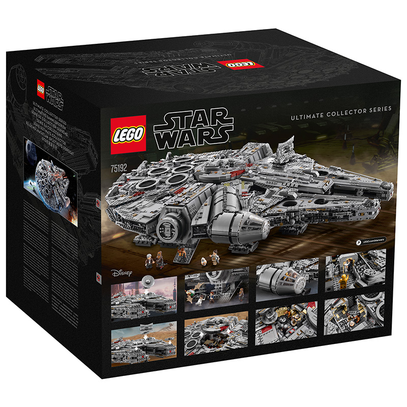 LEGO 75192 Star Wars Millennium Falcon, 7541 Pieces Building Toy, Building Set, Brick Set (Building Blocks, Building Bricks)