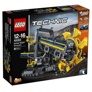 Lego Technic 42055 Bucket Wheel Excavator, 3929 Pieces Building Toy, Building Set, Brick Set (Building Blocks, Building Bricks)