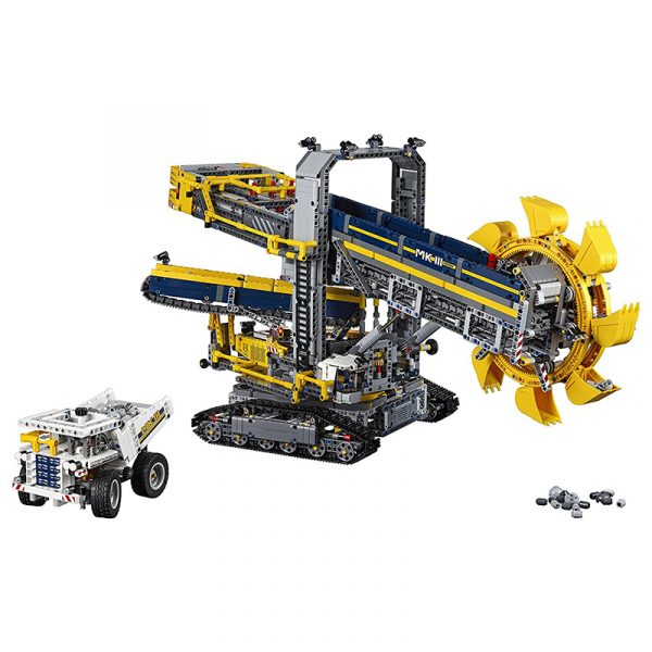 Lego Technic 42055 Bucket Wheel Excavator, 3929 Pieces Building Toy, Building Set, Brick Set (Building Blocks, Building Bricks)