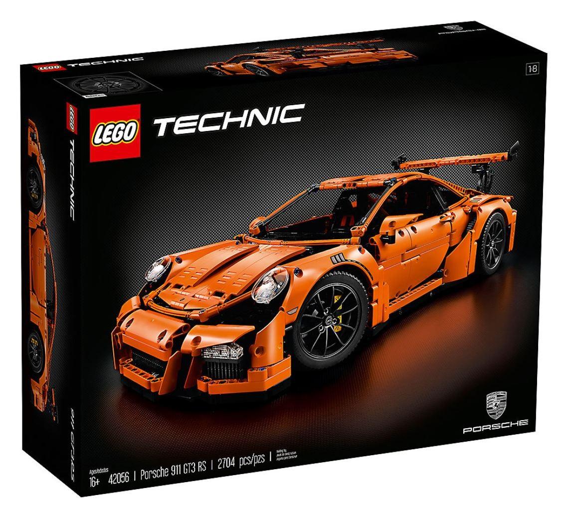 2704 Pieces Compatible Technic Porsche 911 GT3 RS