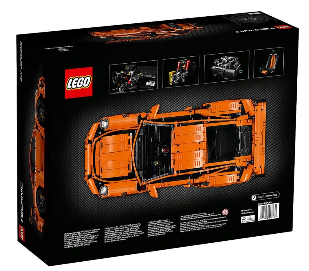 Lego Technic 42056 Porsche 911 GT3 RS, 2704 Pieces Building Toy, Building Set, Brick Set (Building Blocks, Building Bricks)