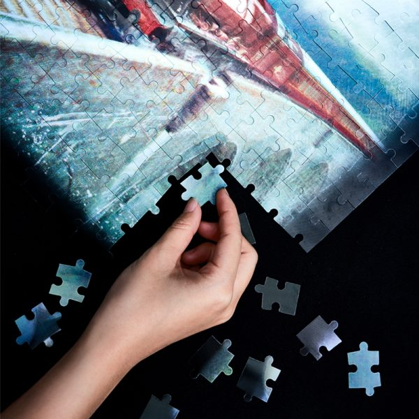 Harry Potter 3D Lenticular Printing Image 3D-look Paper Jigsaw Puzzle, family games, Puzzle game, Family Crafts, Home crafts, Brain game