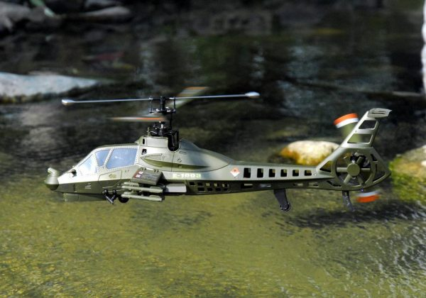 """Boeing–Sikorsky RAH-66 Comanche"" Ready to Fly (RTF) Attack Helicopter Scale Model, 2.4GHz, 4CH (4 Channel), Single Rotor, Remote Control Helicopter, Simulation RC Military Helicopter Toy"