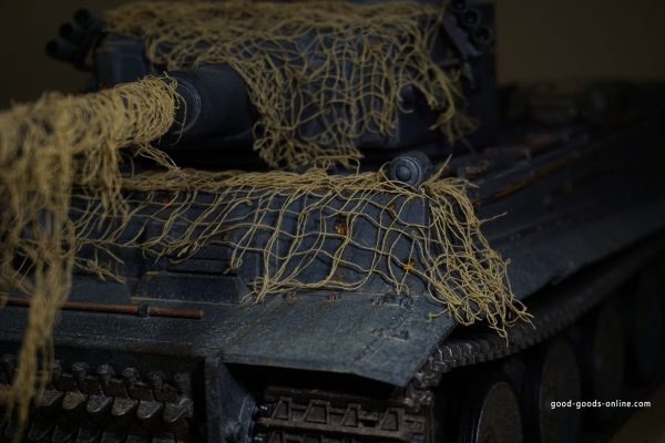 Tanks and combat vehicles are constantly exposed to sunlight, water, fire, smoke, mud and wind. In service they are unlikely to avoid mechanical damage, scratches, bullet marks, and ageing.