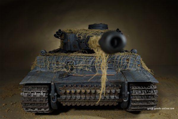 "RC Tanks Heng Long in scale 1:16 - RC Panzer Shop RC Tanks Heng Long RC Tank ""Tiger 1"" Pro Upgrade Heng Long 2,4 Ghz 1:16 smoke sound BB + IR steelgear"