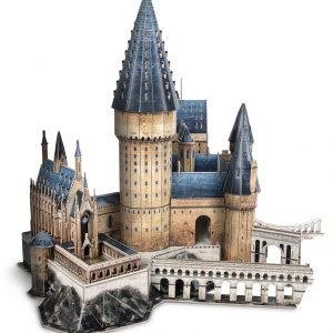 """Hogwarts Great Hall"" Paper 3D Puzzle, Almost 100% Copy The Harry Potter Movie Scene.---(Cubicfun Toys (Cubic-Fun DS1011H) Paper 3D Puzzles Handmade Building the Castle Toys Piece by Piece)"