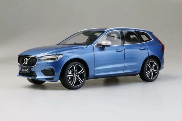 Volvo xc60 2018 2019 2020 blue color Scale Model Car diecast model car collectible model car collector toy car hot wheels collectors