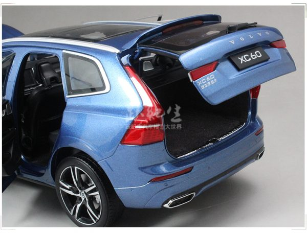 Volvo xc60 2018 2019 2020 blue color 1 18 Scale Model Car Scale die-cast vehicles diecast model car collectible model car collector toy car