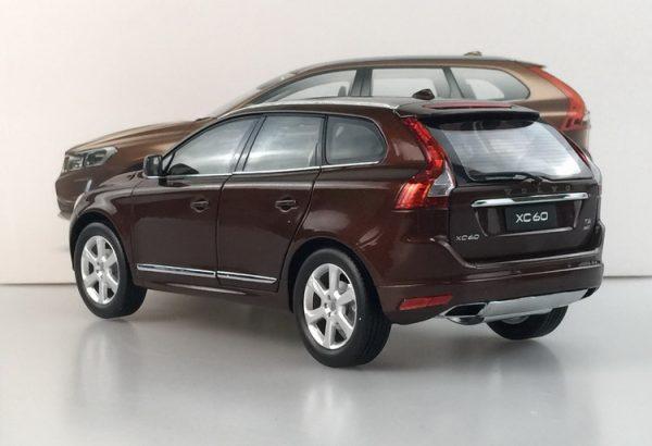 Details about 1:18 VOLVO XC60 XC 60 SUV Brown Die-Cast Metal Model Car