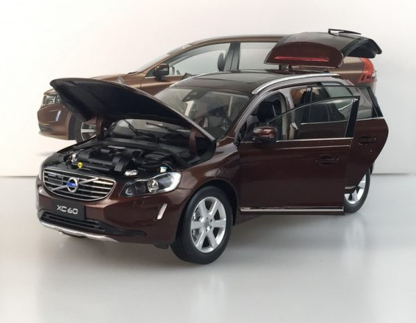 Volvo xc60 Brown color 1:18 Scale Model Car, 1/18 Scale die-cast vehicles, diecast model car, collectible model car, collector toy car.