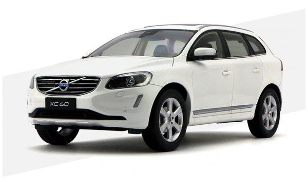 VOLVO XC60 White LUXURY Version 1:18 Original Diecast Model Car Replica for Gift