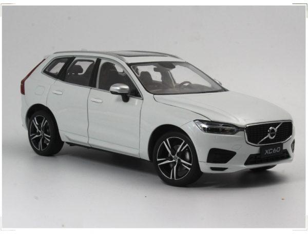 ORIGINAL MODEL 1:18 VOLVO ALL NEW XC60 2018,DELUE SUV WHITE,NEW COMING