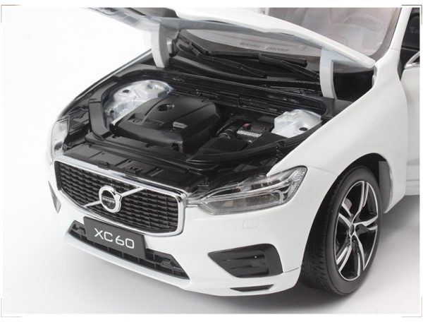 1:18 Original Model Car VOLVO XC60 White Sports Version Diecast Cars Collection