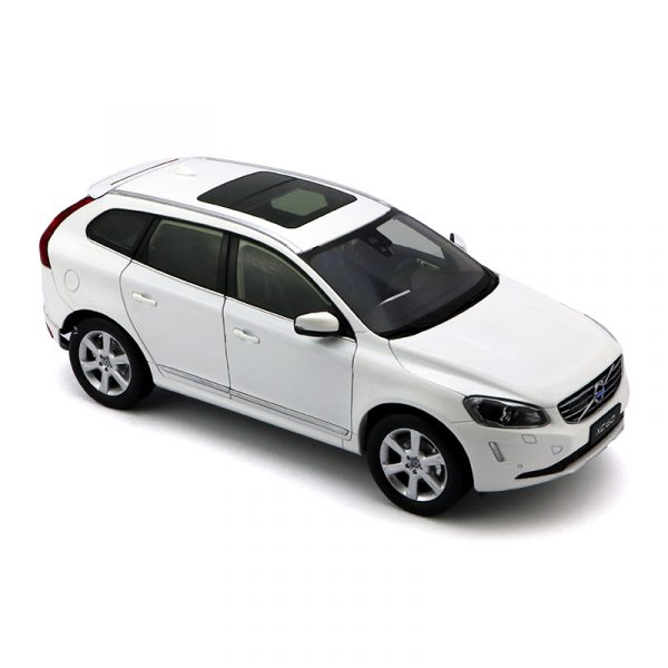 Volvo xc60 2018 2019 2020 White color Scale Model Car diecast model car collectible model car collector toy car hot wheels collectors