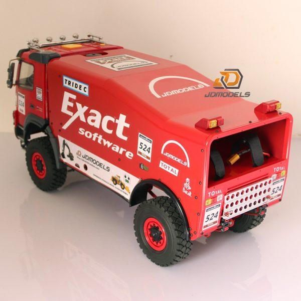 RTR RC 4WD 1/14 Scale Dakar Rally Race Truck, 2020 Rc Car Tamiya Model 2018 Volvo FMX Version 1/14 Scale Dakar Rally Truck From Liu451213353,