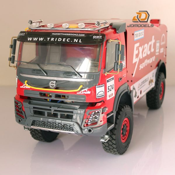 RTR RC 4WD 1/14 Scale Dakar Rally Race Truck, RC truck Man 1:12 Dakar for Axial SCX10 II chassis. The cab with the body is printed on a 3D printer. You can buy the printable model here: