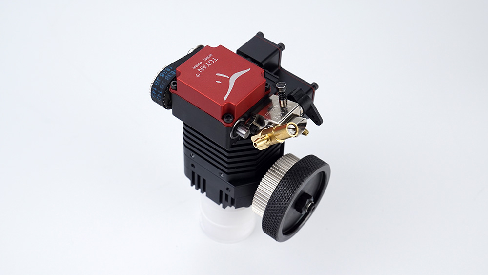 TOYAN Single-cylinder Four-stroke Model Engines, RC Car and Truck Engines for Nitro and Gas Vehicles.