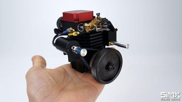 Model Engines That Run TOYAN FS-S100X Single-cylinder Engine FS-S100GA Four-stroke Petrol Engine Gasoline Engine RC Model Car Boat Truck Engine