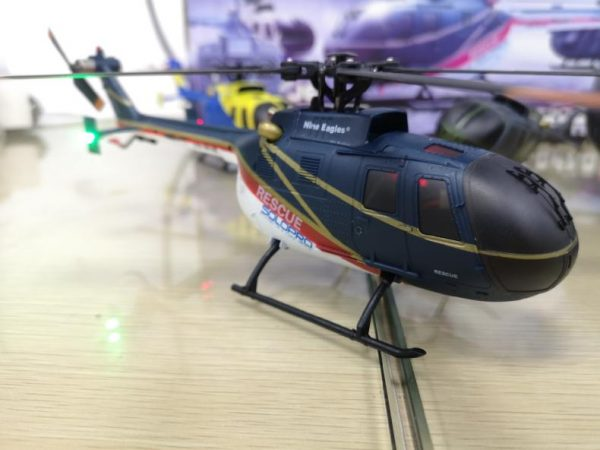 """""""ALL IN ONE--Hobby Fans Collector's Edition"""", This order collects all Nine Eagles released MBB Bo-105 Light utility helicopter RC Scale Model. (Nine Eagles Solo Pro 135, 4 blades, Brushless Motor, 3-axis gyroscope, Simulation shape, Like real RC Helicopter)"""