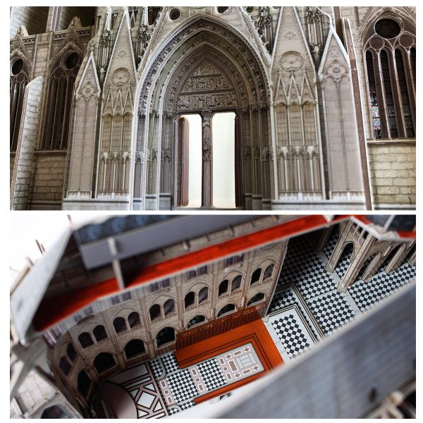 CubicFun 3D Puzzle MC260HNotre Dame De Paris, Notre Dame Cathedral is a church building in the heart of Paris, on the Cite Island, also is the cathedral of the Catholic Diocese of Paris.