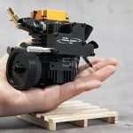 Unboxing Mini Runnable Model Engine (TOYAN Engine FS-S100 Single-cylinder Four-stroke Petrol & Nitro Methanol Engine) Chapter One.