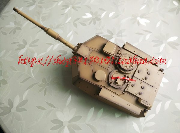 M1A2 Abrams Tank Turret and BB Ball Bullet Shooting Main Gun Assembly For Heng Long 3918 RC Tank (Heng Long RC Tank Accessories & Parts & Fittings & Components. HL remote control Tank Repair Parts, Repair Spare Parts, Replacement Parts, HengLong Radio control Tank Spare Parts, Maintenance Parts, Service Parts)