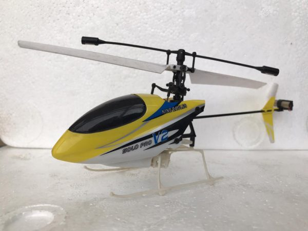 RTF Indoor & Outdoor Flying Nine Eagles Solo Pro 260A 4 Channel Mini RC Helicopter, 2.4G 4CH Micro RC Hobby Helicopter, RC Blade Helicopter for Beginner or Expert, Buy Helicopter Toys, Remote Control Helicopter Gift Present