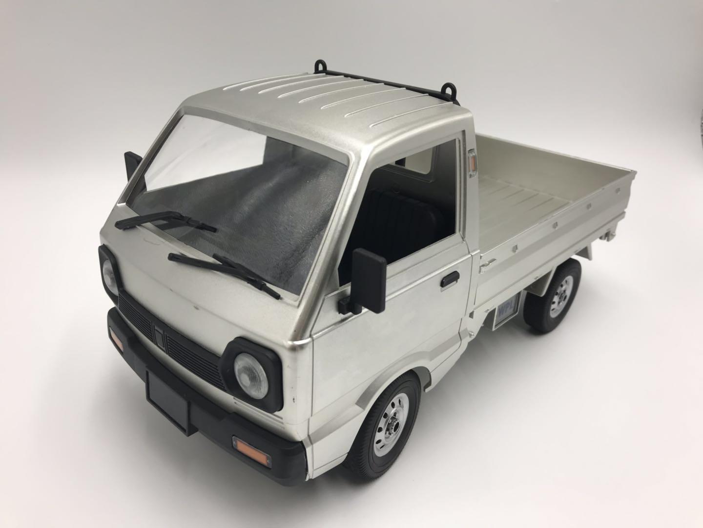 Silver RTR Remote Control Suzuki Carry Van Compact Pickup ...