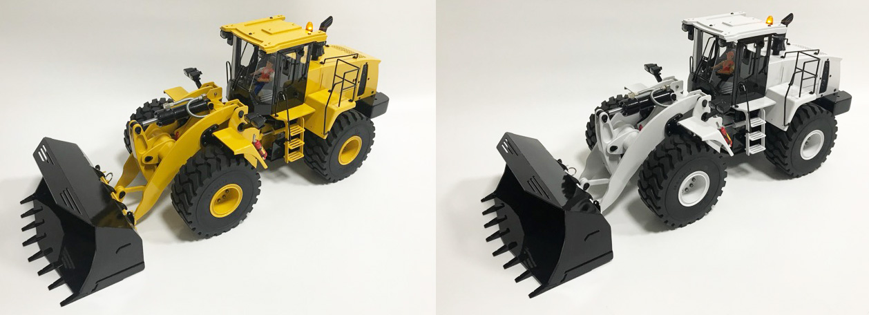 1/14 Scale Full Metal Komatsu WA470 RC Hydraulic Alloy Wheel Loader & All Metal Caterpillar CAT 980L RC Hydraulic Wheel Loader User Manual