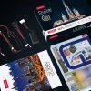 """Dubai City Skyline Famous Landmark Architecture 3D Paper Puzzle With LED Light, Burj Khalifa """"Burj Dubai"""", Burj Al Arab, Emirates Towers Skyscraper Paper Model Building Kits, Atlantis The Palm Dubai Tourist Attraction Cubicfun Toys (Cubic-Fun L523h) Paper Model Making Kits"""