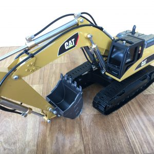 HUINA 580 & HUINA 1580 Full Metal RC Excavator Upgrade To RC Hydraulic Crawler Excavator Scale Model (CAT Caterpillar 336 336D Hydraulic Excavator Radio Remote Control Construction Equipment